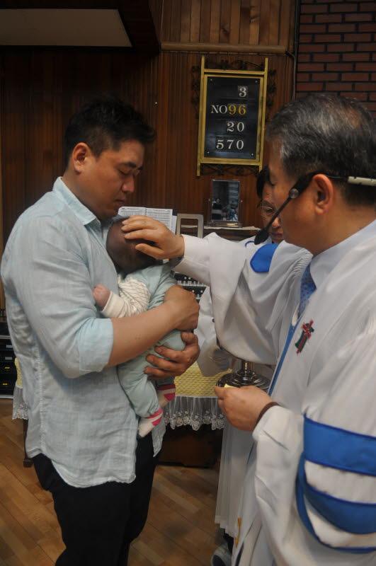 김시우 (부모: 김지훈, 박루디아 아들) (박인엽 이정화 집사 외손자)